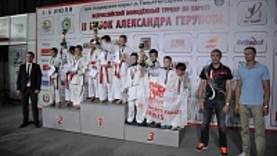 Воронежские каратисты выиграли 6 медалей на всероссийском турнире