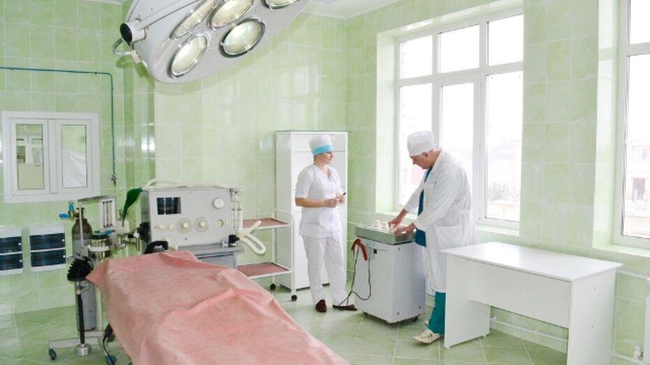 В Семилукской ЦРБ отремонтировали реанимацию, а в Грибановской  - оперблок