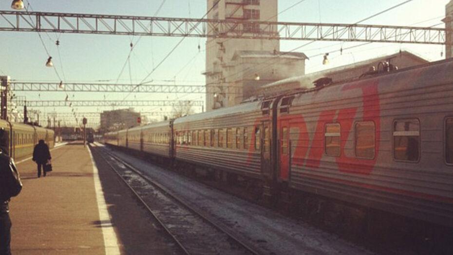 Из-за поломки локомотива поезд Воронеж - Москва задерживается как минимум на час