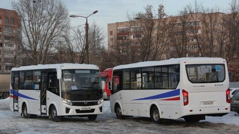 В Воронеже на маршруте №125 микроавтобусы заменят на «ПАЗы»