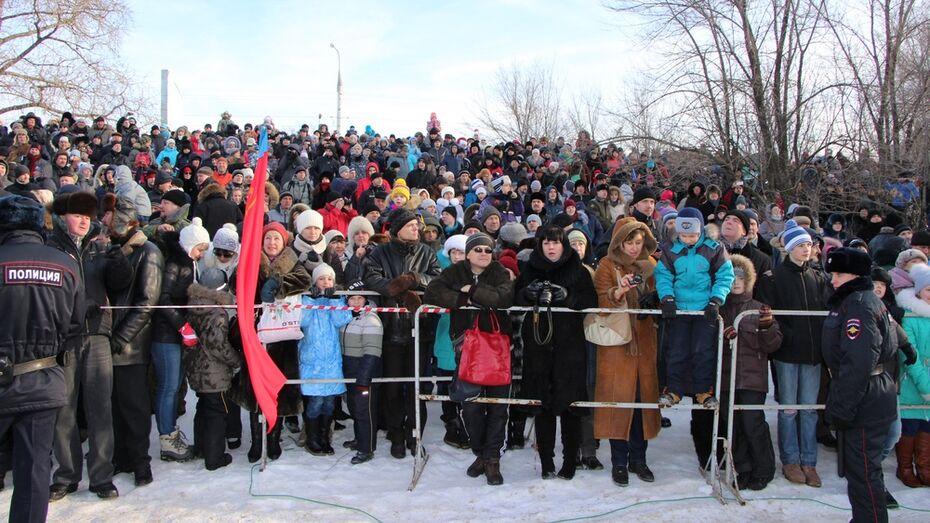 Школьники Терновского района увидели «битву за Воронеж»