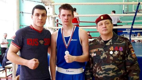 Богучарец завоевал «серебро» первенства России по боксу
