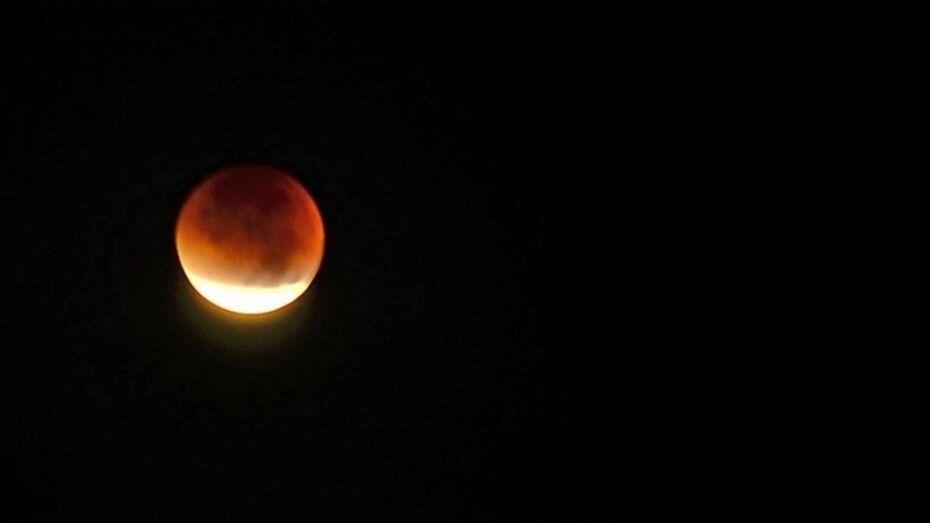 Воронежцы увидят «красную» Луну вечером 7 августа