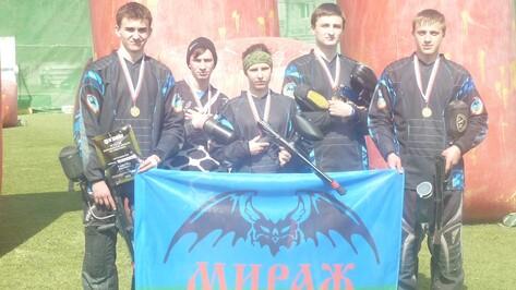 Верхнехавские пейнтболисты взяли «золото» Открытого кубка области