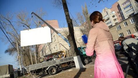 Рекламные щиты принесли в бюджет Воронежской области 442 млн рублей