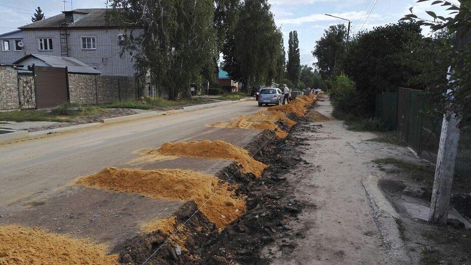 В Семилуках на ремонт 3 улиц выделили 15,4 млн рублей