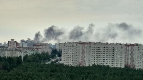 Спасатели объяснили задымление в Северном микрорайоне Воронежа