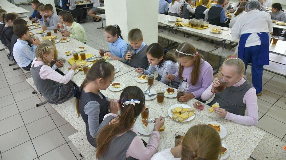 Родителей воронежских младшеклассников попросили оценить бесплатное питание