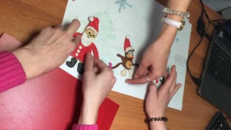 Воронежские дети сняли новогодний благотворительный мульфильм
