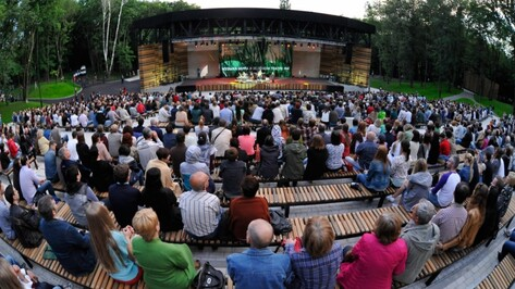 За первый сезон работы «Зеленый театр» посетили 15 тыс воронежцев
