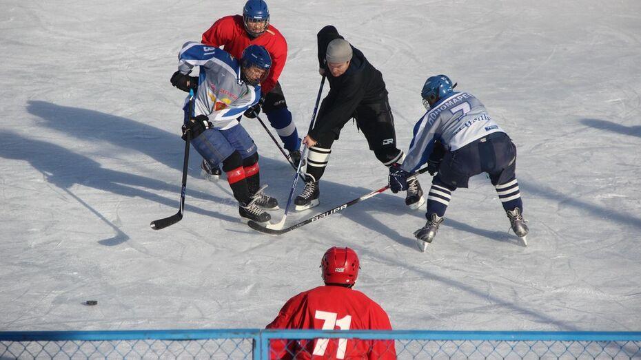 В Рамони финал районного чемпионата по хоккею сыграют ночью