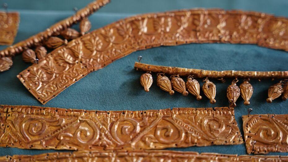 Уникальный скифский головной убор передали Острогожскому музею Воронежской области