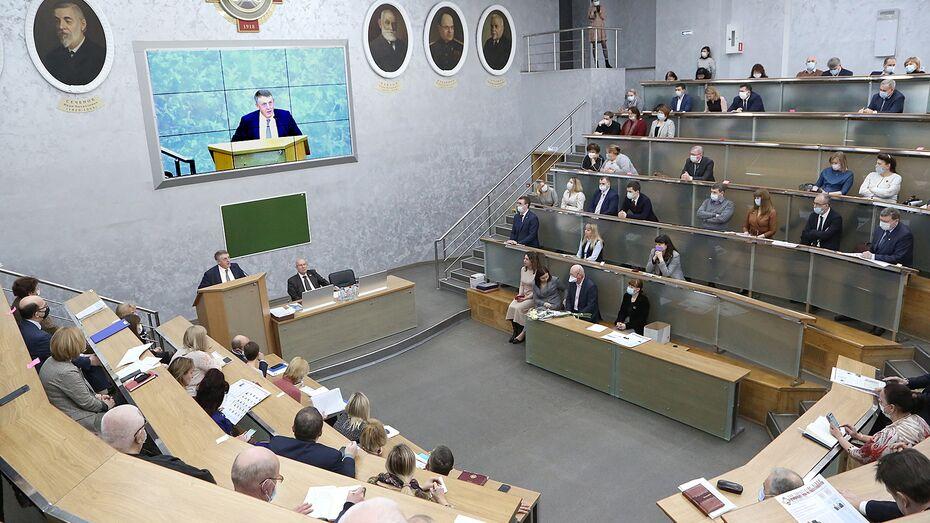 Воронежский опорный вуз и медуниверситет имени Н.Н. Бурденко подписали меморандум о сотрудничестве