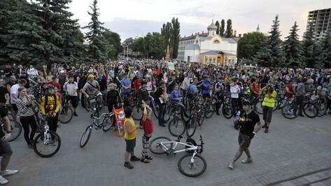 Воронежская Велоночь стала длиннее на три километра (КАРТА)