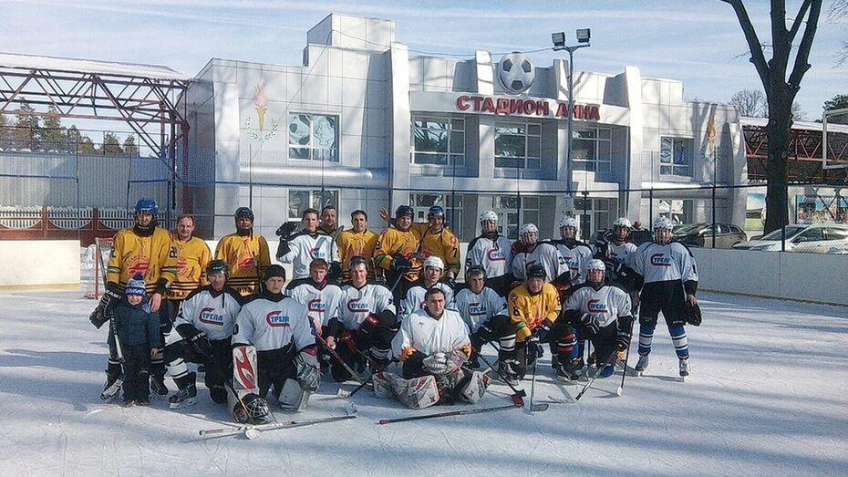 Панинские хоккеисты стали победителями межрайонного турнира