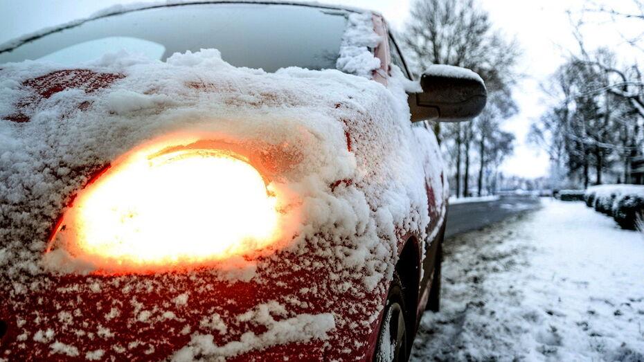 В Воронежской области спасли 2 девушек и ребенка из сломавшейся на морозе машины