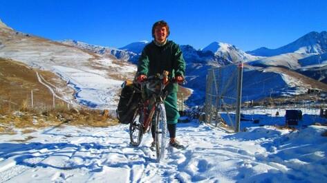 Путешествующий 1,5 года велосипедист расскажет воронежцам о пути в 30 тыс км