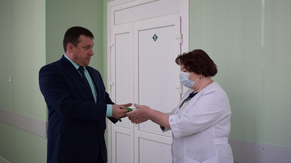 В Борисоглебской райбольнице отремонтировали дополнительный корпус для больных COVID-19