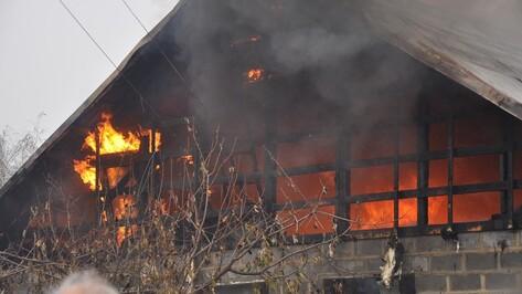 В Воронеже при пожаре погиб хозяин дачного дома
