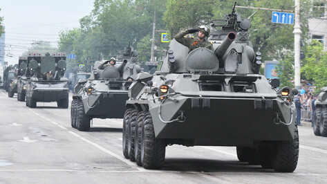 Власти озвучили решение по параду Победы в Воронеже 24 июня