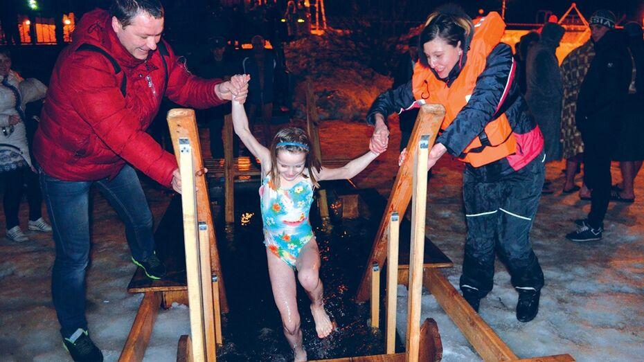 В Калачеевском районе отметили праздник Крещения