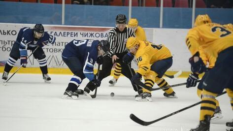 Воронежский «Буран» обыграл неудобного соперника