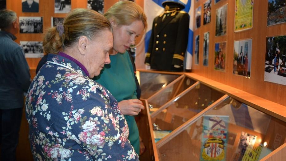 В Россошанском районе лицею присвоили имя земляка-подводника