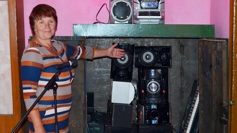 В семилукском сельском доме культуры появилась новая музыкальная аппаратура