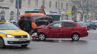Три смертельные аварии произошли в Воронежской области за новогодние праздники