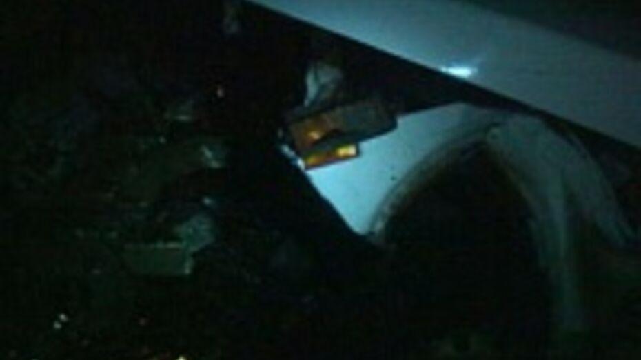 В Семилуках столкнулись три автомобиля: один человек погиб