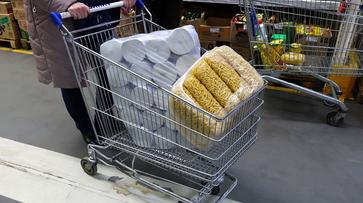 Воронежскому магазину запретили пользоваться дребезжащими тележками