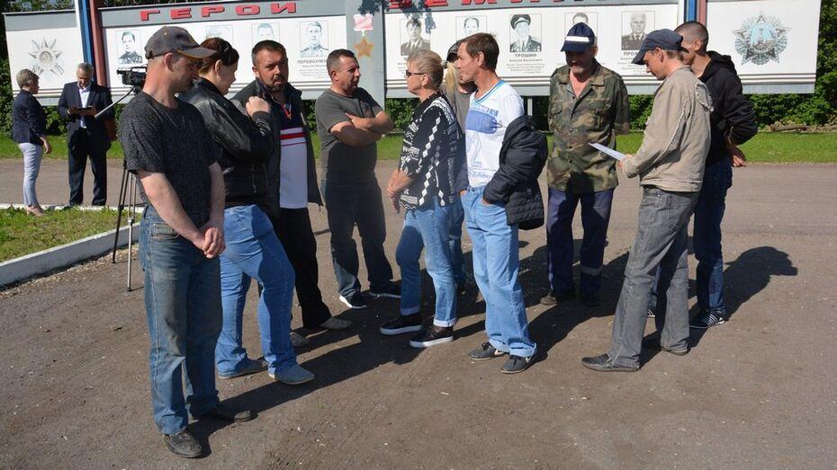 Поворинские коммунальщики объявили забастовку