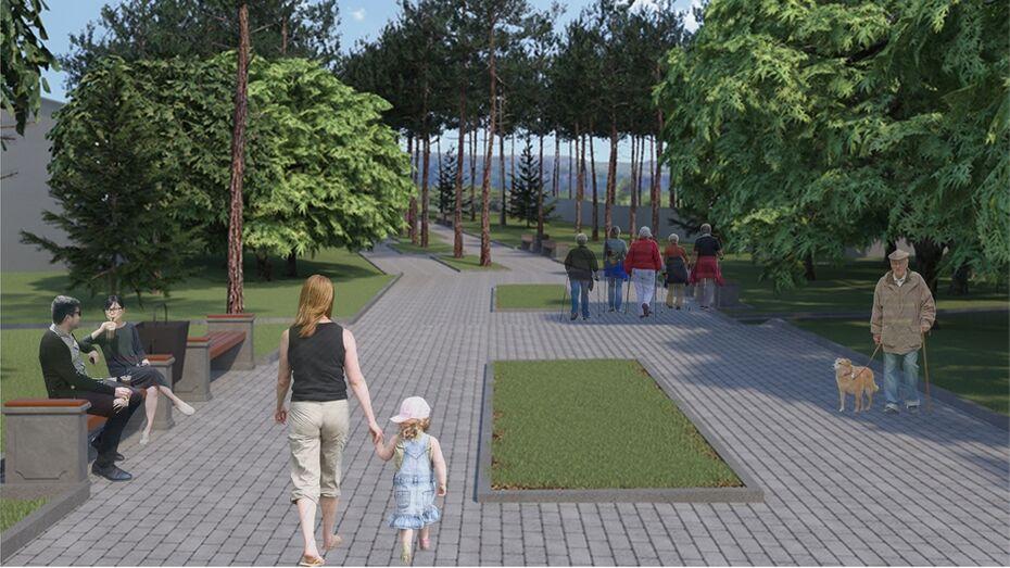 В Лисках начали строительство набережной