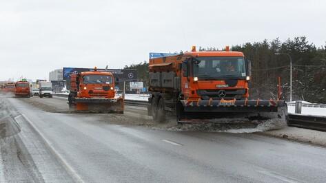 Безопасность движения на трассах Воронежской области зимой обеспечат 98 спецмашин