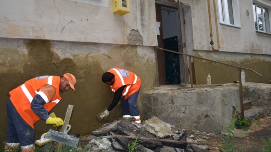 В Нижнедевицке многоквартирный дом капитально отремонтируют за 2,5 млн рублей