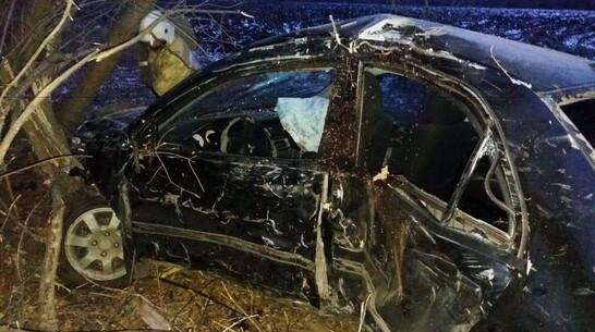 Водитель иномарки погиб при обгоне в Воронежской области