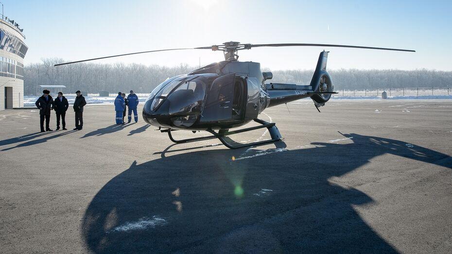 В Воронежской области появится второй санитарный вертолет Eurocopter