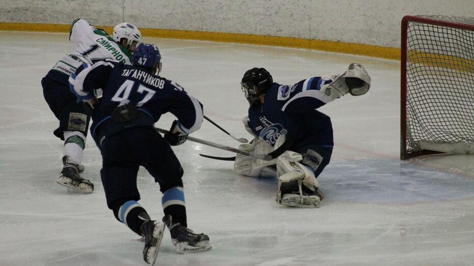Хоккейная «Россошь» проиграла первый финальный матч Кубка Регионов