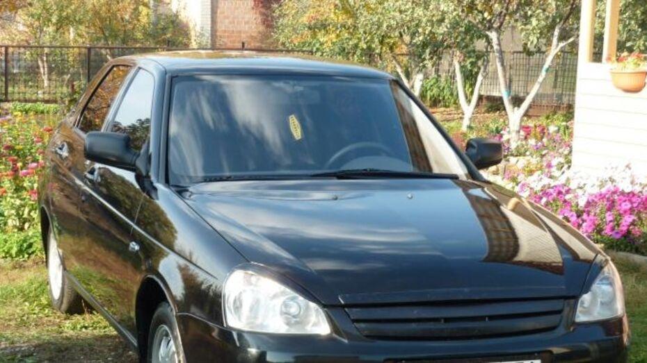 В Воронеже отец и сын угнали машину-двойника своей «Лады»