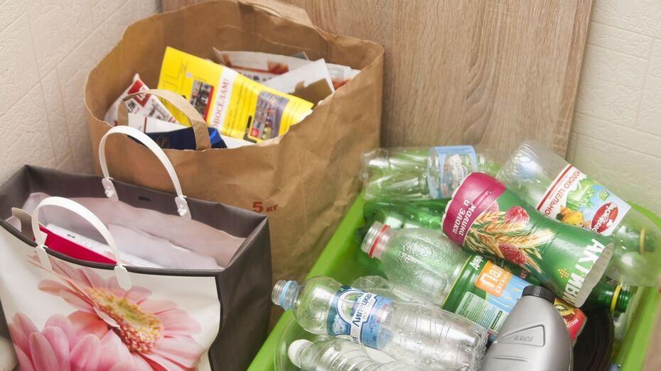 В Воронеже пройдет акция по раздельному сбору мусора