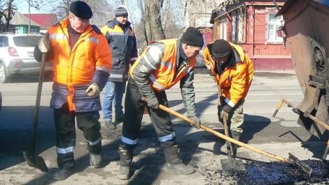 В Борисоглебске приступили к ремонту дорог