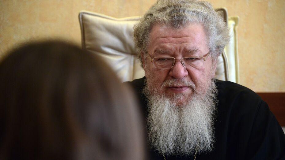 Прямая линия с митрополитом Воронежским и Лискинским Сергием