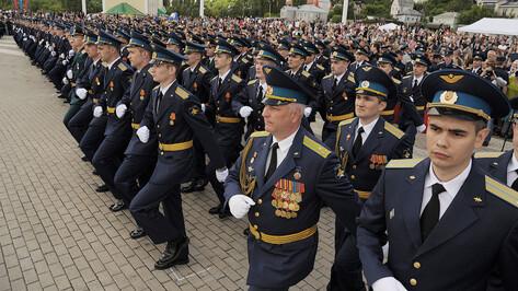 Центр Воронежа перекроют из-за выпуска офицеров Военно-воздушной академии