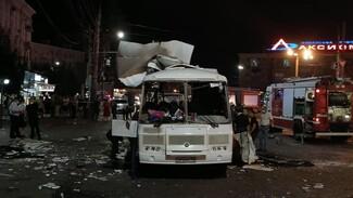Воронежский губернатор предостерег от распространения фейков о взрыве автобуса