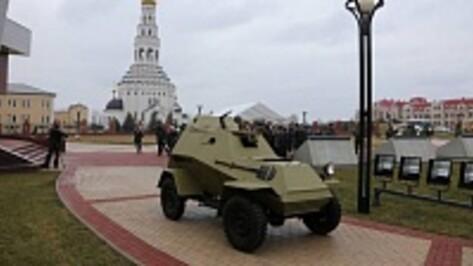Бронеавтомобиль из Верхней Пышмы обрел «прописку» под Прохоровкой