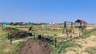 Место для семейного отдыха обустроили активисты села Мамоновка