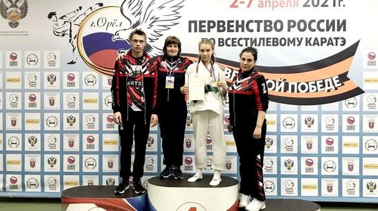 Верхнехавская спортсменка победила в первенстве России по всестилевому карате