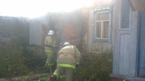 Мать и сын задохнулись угарным газом при пожаре в Воронежской области