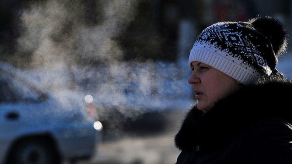 В выходные в Воронеже похолодает до -7 градусов