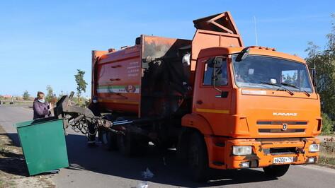 Плату за вывоз отходов скорректируют в Воронежской области по инициативе губернатора